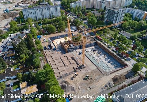neuperlach.org.gelbmann.org zeigt die Baustell Grundschule am Karl-Marx-Ring