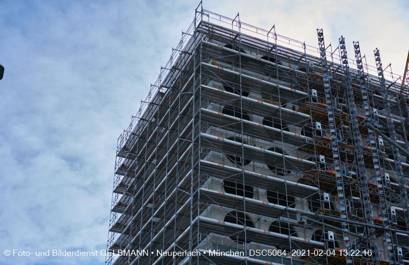 23.12.2020 Fassadensanierung Marx-Zentrum