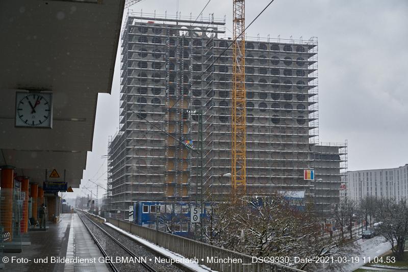 neuperlach.org.gelbmann.org zeigt Baustelle zum Boardinghaus in Neuperlach