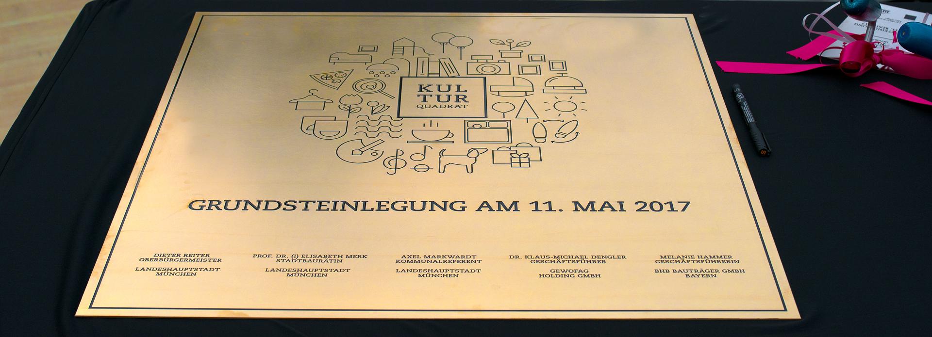 02.01.2021 - Grundsteinlegung LOGE und Kulturquadrat 2017